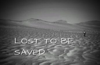 LOST TO BE SAVED